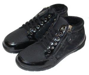 TOPWAY Sneakers leicht gefüttert schwarz 39
