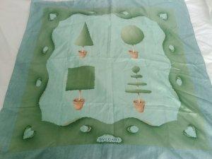 Bulgari Bufanda de seda verde pálido-verde claro