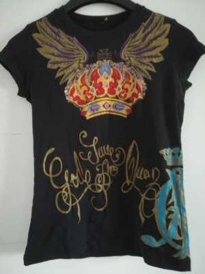 Christian Audigier Camicia fantasia multicolore