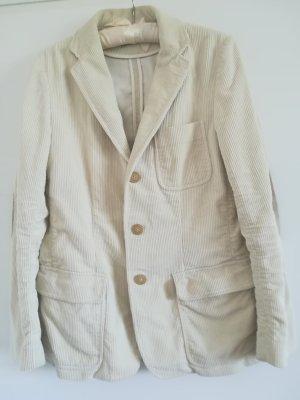 Ralph Lauren Blazer in lana bianco sporco