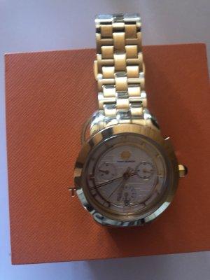 Tory Burch Zegarek z metalowym paskiem złoto