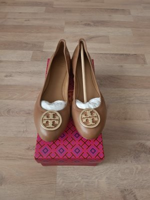 Tory Burch Classic Ballet Flats brown