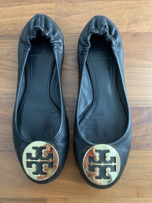 Tory Burch Ballerinas with Toecap black