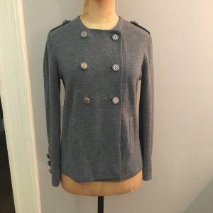 Tory Burch Giacca in maglia grigio Lana