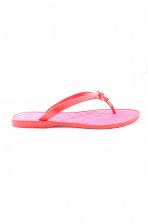 Tory Burch Dianette sandalen rood-roze casual uitstraling
