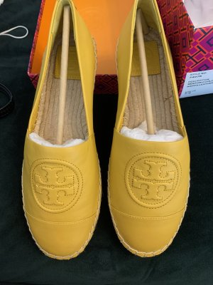 Tory Burch Foldable Ballet Flats gold orange