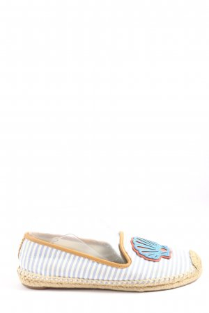 Tory Burch Espadrille Sandals striped pattern casual look