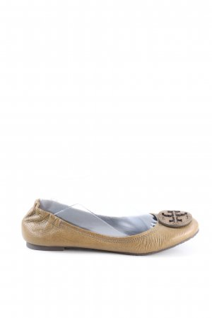 Tory Burch faltbare Ballerinas khaki Casual-Look