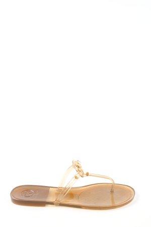 Tory Burch Flip-Flop Sandals bronze-colored elegant