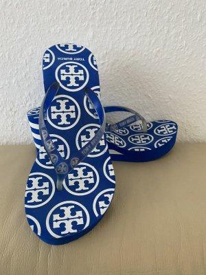 Tory Burch Flip-Flop Sandals blue