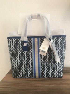 Tory Burch Torba shopper niebieski