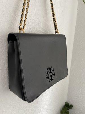 Tory Burch Handtasche schwarz Leder