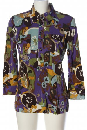 Tory Burch Hemd-Bluse abstraktes Muster Casual-Look