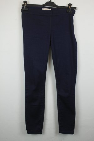 Tory Burch Hoge taille jeans donkerblauw Katoen