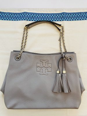 Tory Burch Hobos light grey leather