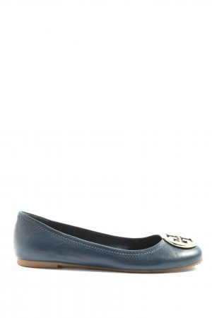 Tory Burch Klassische Ballerinas blau Casual-Look