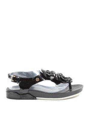 Tory Burch Komfort-Sandalen schwarz Casual-Look