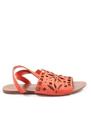 Tory Burch Comfortabele sandalen rood elegant