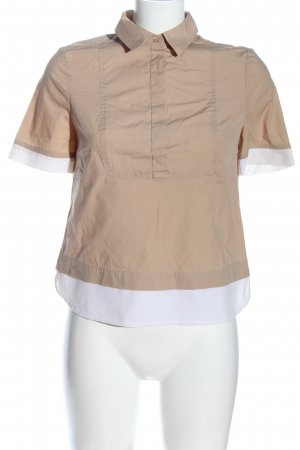 Tory Burch Short Sleeved Blouse cream-white casual look