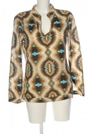 Tory Burch Long Sleeve Blouse allover print casual look