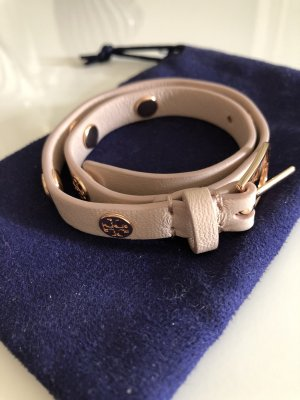 Tory Burch Leather Bracelet rose-gold-coloured-nude