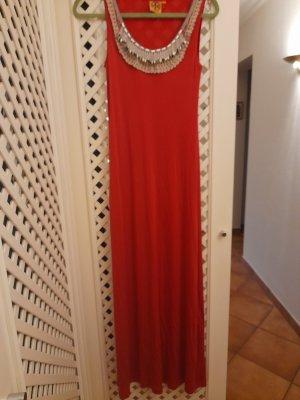 Tory Burch Midi Dress red