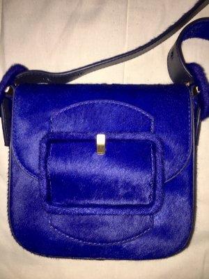 Tory Burch neue blaue Tasche aus Kalbsleder