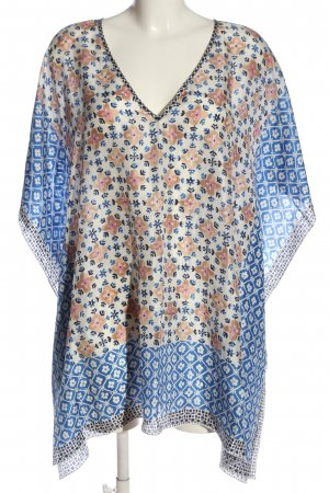 Tory Burch Oversized Bluse Allover-Druck Casual-Look