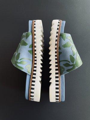 Tory Burch Platform Sandals multicolored