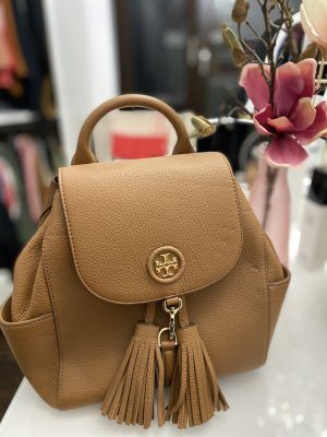 Tory Burch Backpack Trolley cognac-coloured