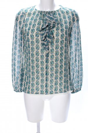 Tory Burch Rüschen-Bluse Allover-Druck Casual-Look