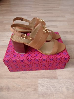 Tory Burch Wedge Sandals brown