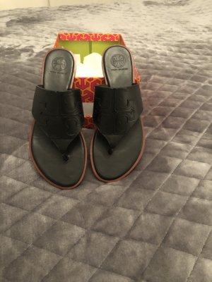 Tory Burch Toe-Post sandals black