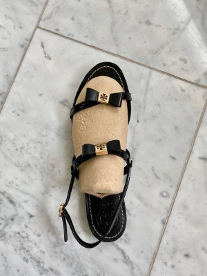 Tory Burch Sandalo outdoor nero-oro