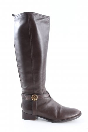 Tory Burch Jackboots brown casual look