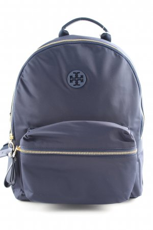 Tory Burch Mochila escolar azul look casual