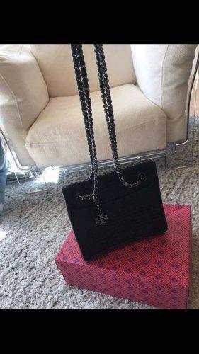 Tory Burch Shoulder Bag black-light grey mixture fibre