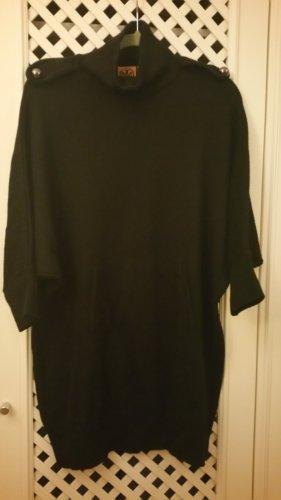 Tory Burch Robe en laine noir