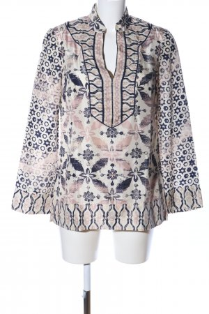 Tory Burch Seidenbluse Allover-Druck Business-Look