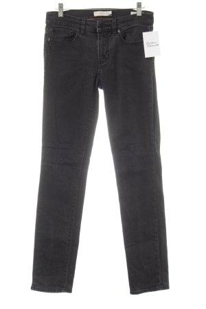 Tory Burch Skinny Jeans dunkelgrau Casual-Look