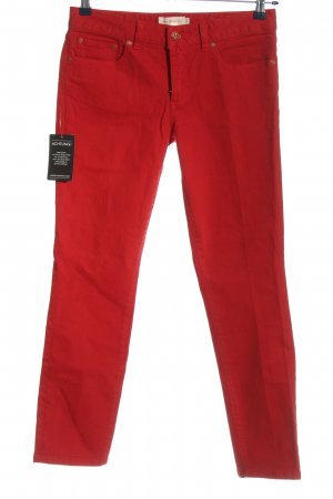 Tory Burch Skinny Jeans rot Casual-Look