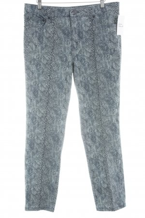 Tory Burch Slim Jeans Animalmuster