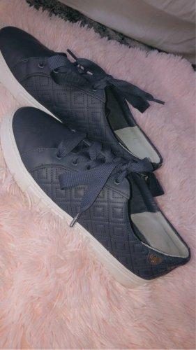 Tory Burch Heel Sneakers dark blue-white