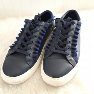 Tory Burch Lace-Up Sneaker blue