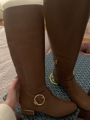 Tory Burch Sofia Buckled Riding Boots