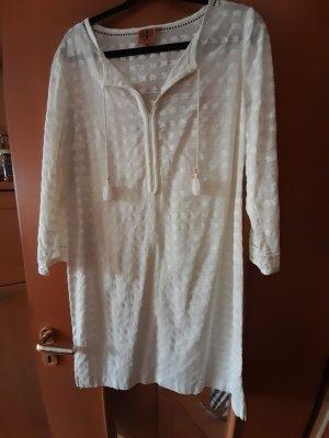 Tory Burch Robe tunique blanc cassé