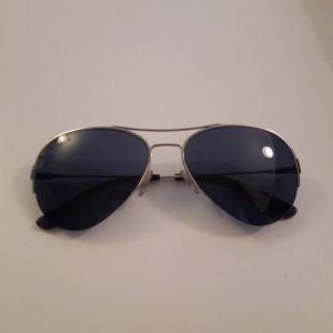Tory Burch Oval Sunglasses multicolored