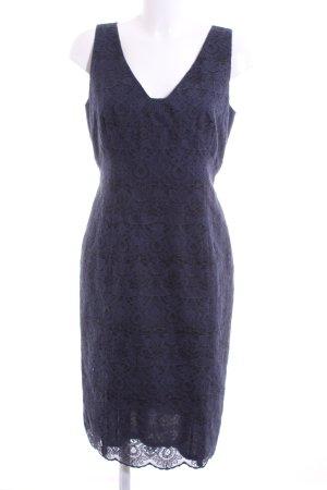 Tory Burch Lace Dress blue flower pattern elegant