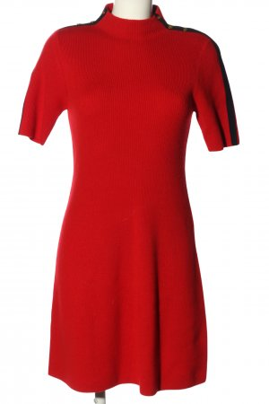 Tory Burch Strickkleid rot Casual-Look