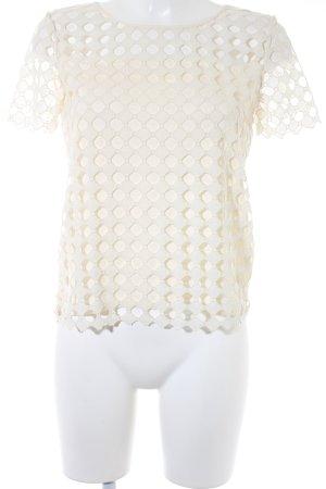 Tory Burch T-Shirt cream linen